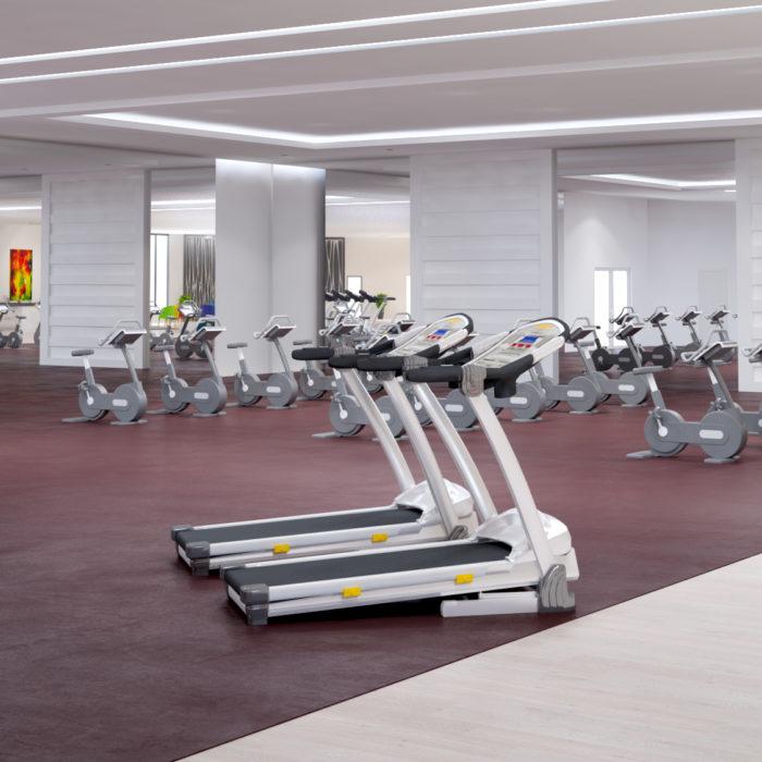 Gym 3D design