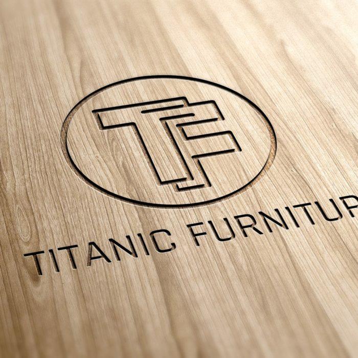 Titanic logo Design - Creative brand agency - REDSHIFT