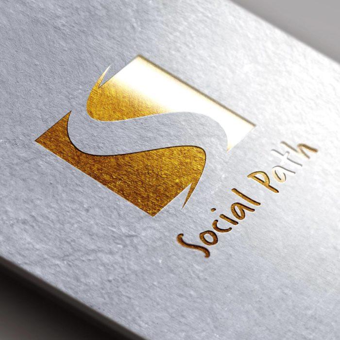 Social Path - logo design services - REDSHIFT