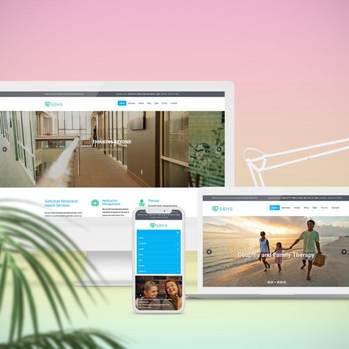 Responsive Web Design - website hosting and design - REDSHIFT