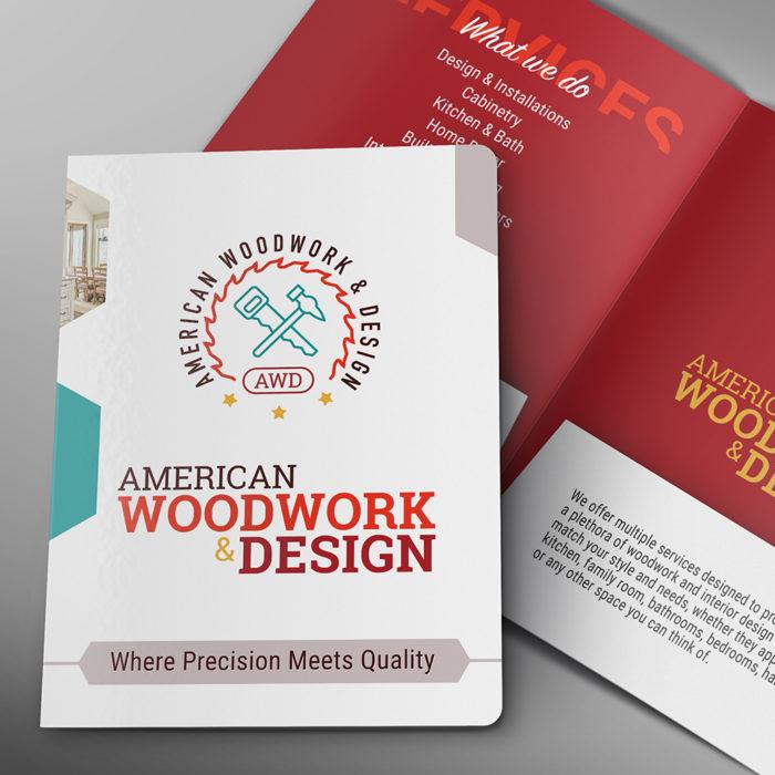 Folder Design AWD   Brand Identity Design Agency   REDSHIFT