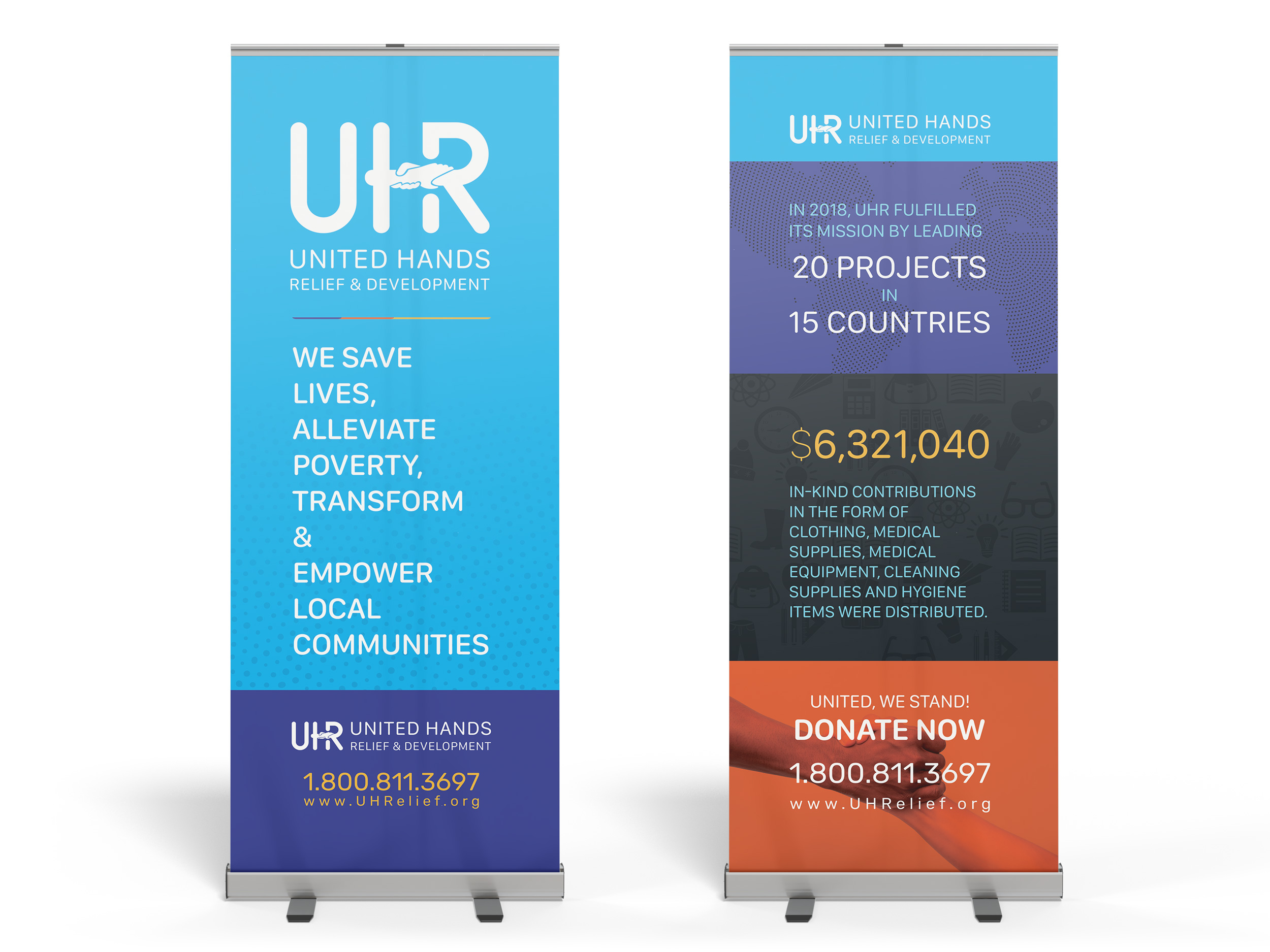 UHR Roll-Up-Banners