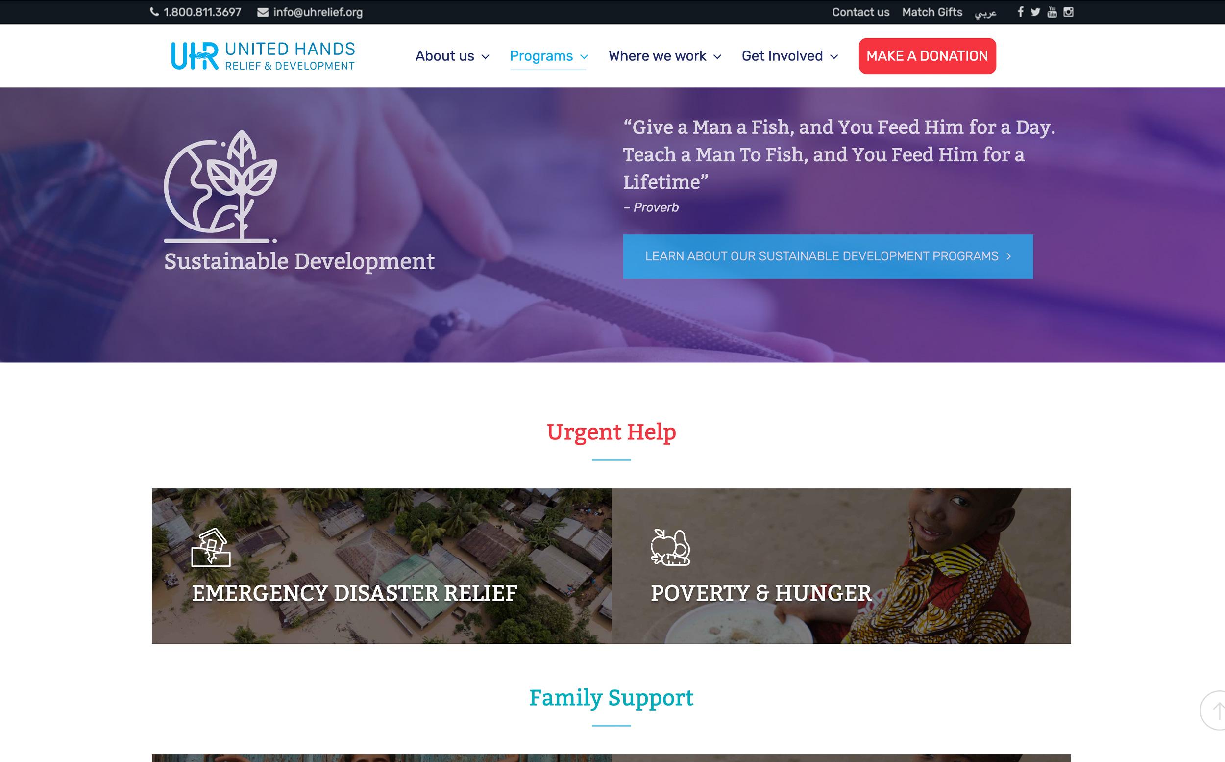 UHR website